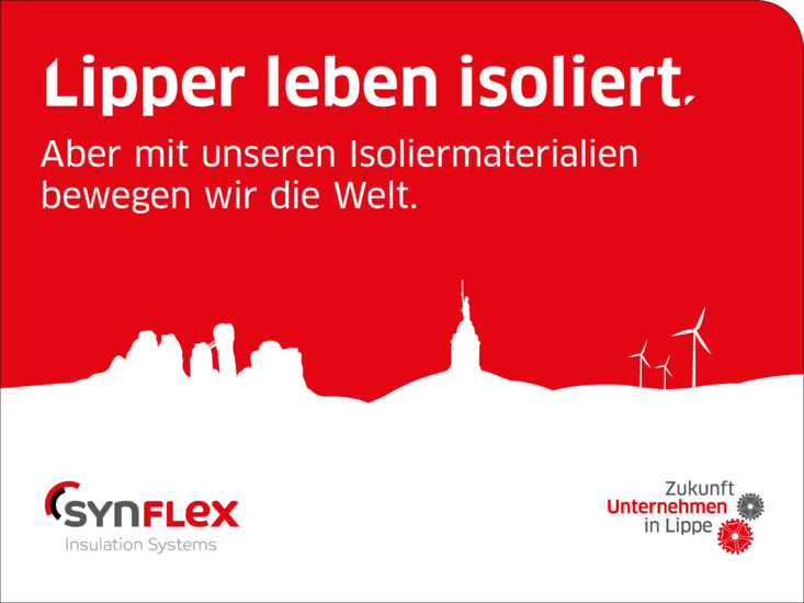 "SynFlex is part of the campaign ""Industrie in Lippe"""