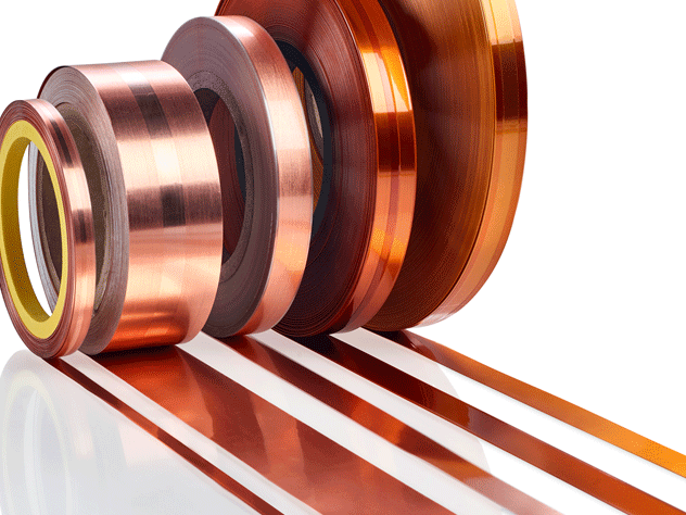 SynShield® Copper & Aluminium Foils, materials for winding